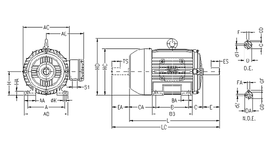 motor eletrico trifasico ip55 weg blindado w21 12 5cv